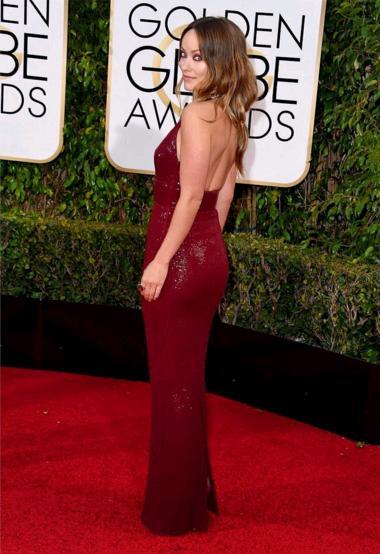Olivia Wilde Golden Globes 2016