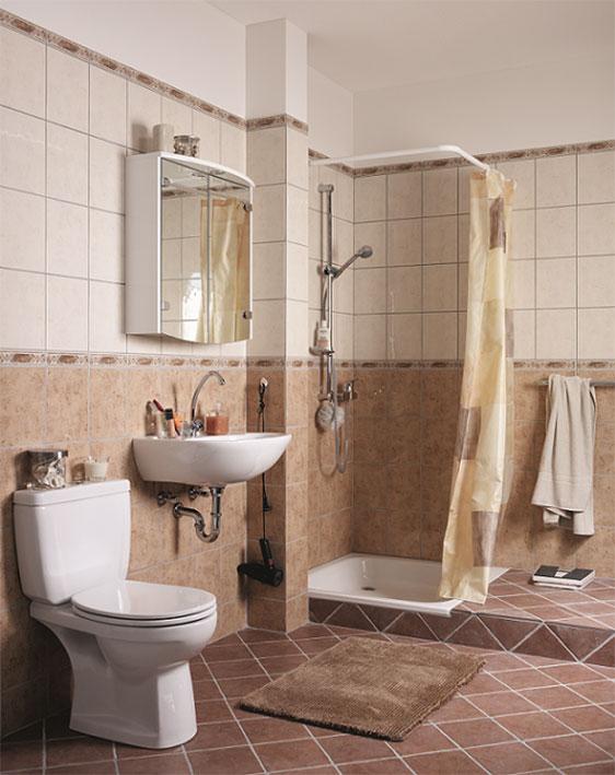 Badkamer gordyne idees beste inspiratie voor huis ontwerp - Idee badkamer m ...