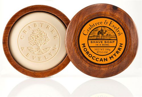 80141 Moroccan Myrrh Shave Soap in a Bowl 1 LR