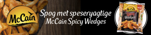 Promosie McCain Spicy Wedges Top Banner
