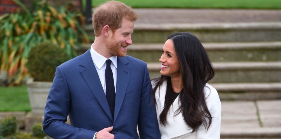 Prins Harry en Megan Markle