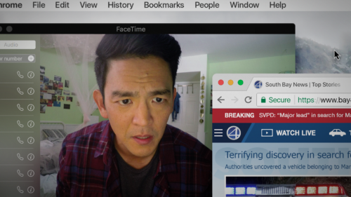 John Cho in Searching