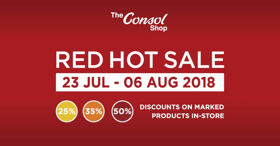 Consol Red Hot Sale digitorial Julie 2018