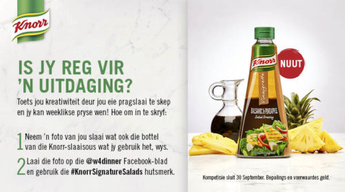 Knorr Signature Salads Julie 2018
