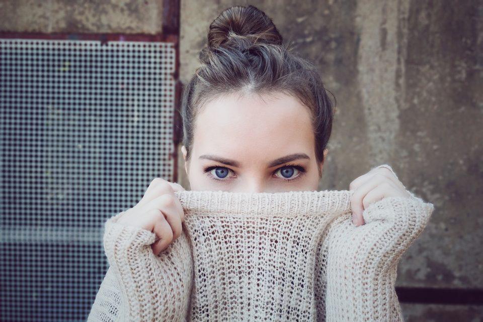 Modeglipse meisie met trui