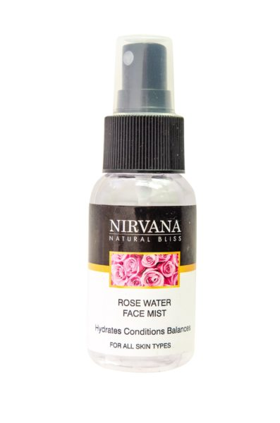Nirvana Natural Bliss Rose Water Facial Mist