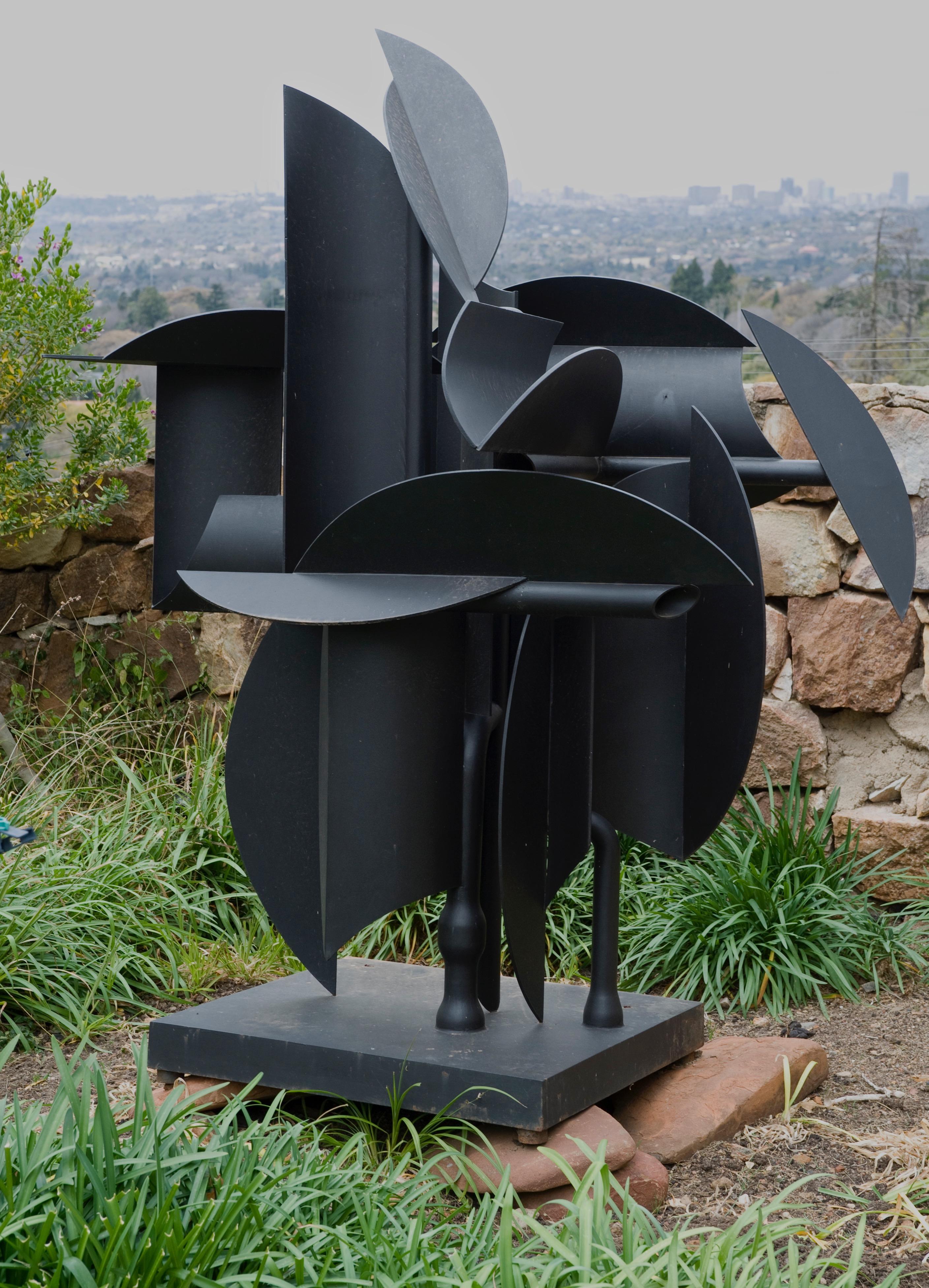 Sien Edoardo Villa se beeldhouwerk in Johannesburg
