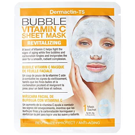 Dermactin-TS Bubble Vitamin C Sheet Mask (R55