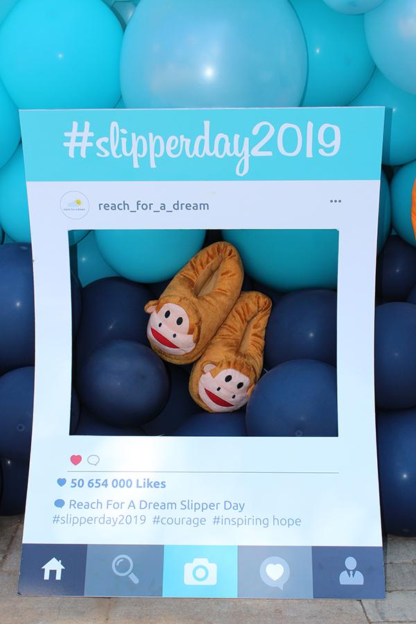 Reach for a Dream se Slipper Day 2019